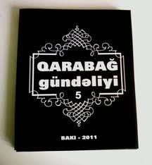 """""""Qarabağ gündəliyi"""" toplusunun 5-ci sayı çapdan çıxıb"""