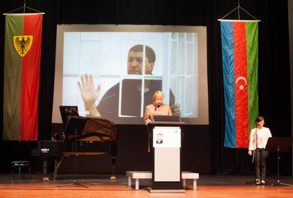 Leyla Yunus Almaniyada beynəlxalq mükafat aldı