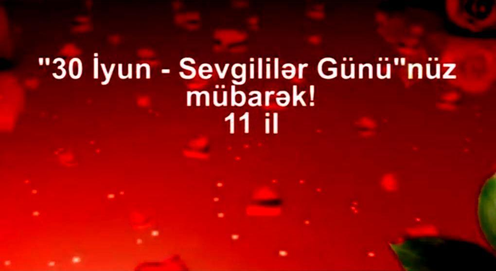 """""""30 İyun - Sevgililər Günü"""" münasibətilə gəzinti keçiriləcək - VİDEO"""