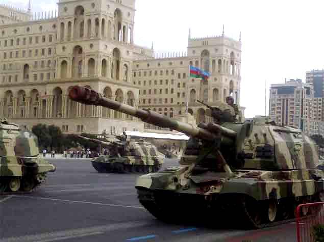 Azərbaycan paytaxtında hərbi paradın baş məşqi iyunun 24-də keçiriləcək