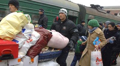 İki azərbaycanlı Rusiyadan deportasiya olundu
