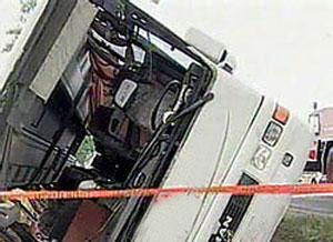 Avtobus qəzasında xəsarət alan şəxslərin adları açıqlandı