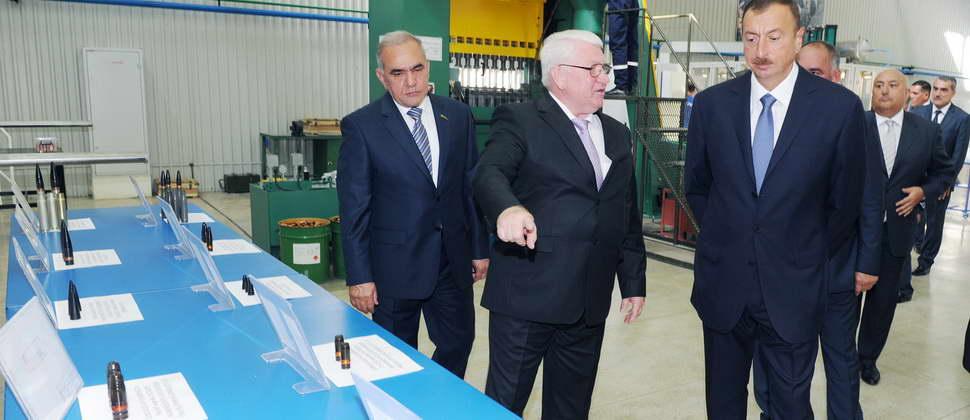 İriçaplı patronların istehsalı mərkəzinin açılışı oldu
