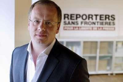 SR baş katibi Fransa prezidentini Bakıda həbs edilmiş jurnalistlər məsələsini qaldırmağa çağırıb