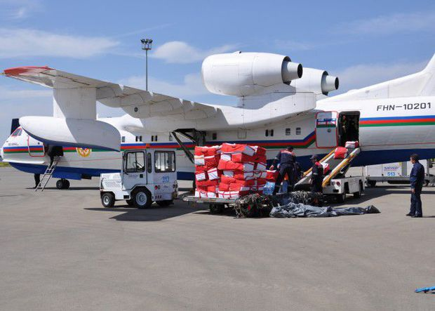 İlham Əliyev Nepala humanitar yardım göndərdi – FOTO
