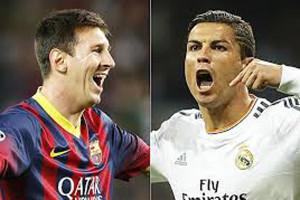 Ronaldu və Messi