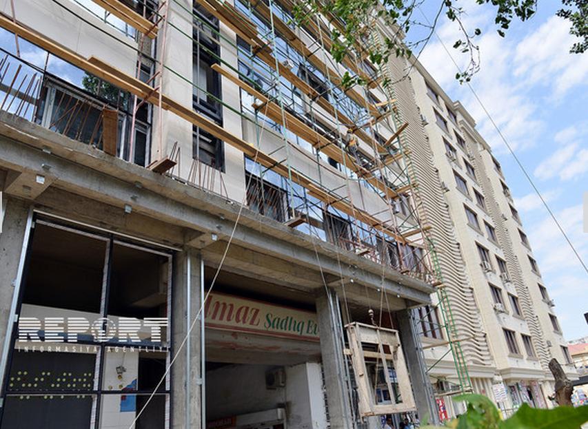 Binalar yeni materiallarla üzlənəcək - FOTO