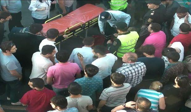 Bakıda ağır qəza: Yaralananlar var - FOTO
