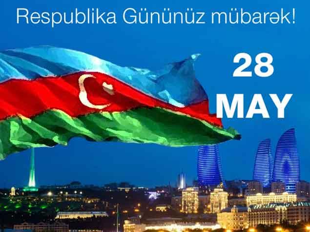 Azərbaycan Respublika Gününü qeyd edir