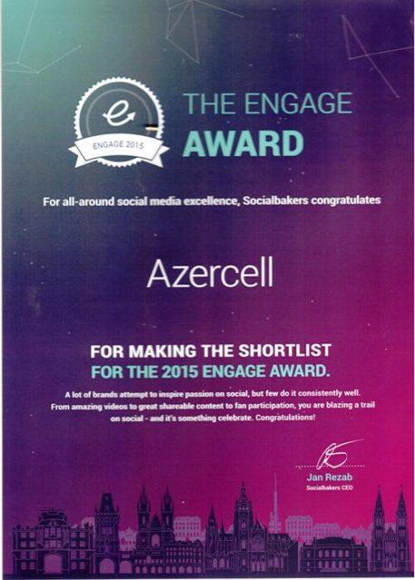 Azercell sertifikat