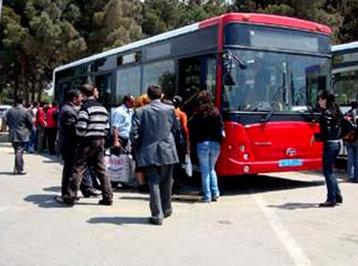 Avtobusların marşrut xətləri məıhdudlaşdırıldı
