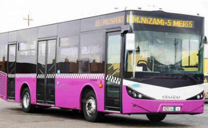 Bəzi avtobus marşrutları bağlandı-SİYAHI