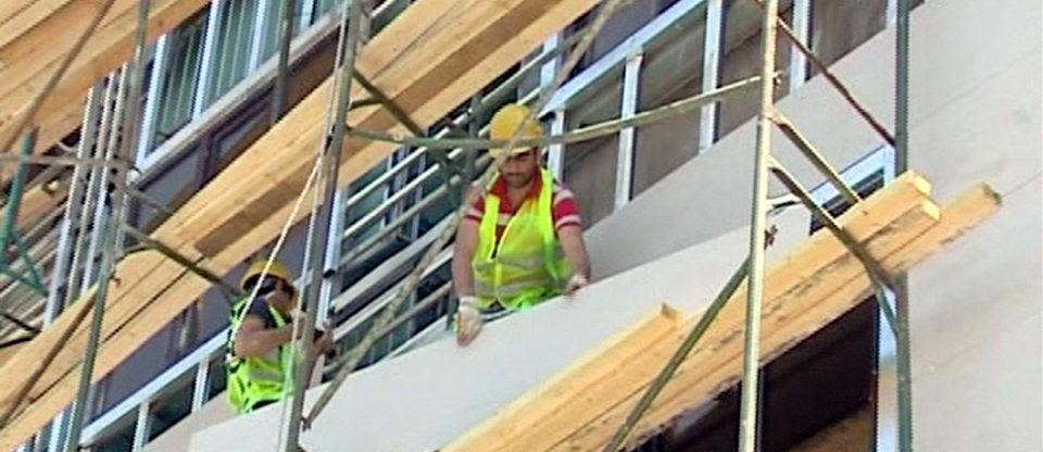 Binalarda yanğına davamlı yeni üzlüklər - Video