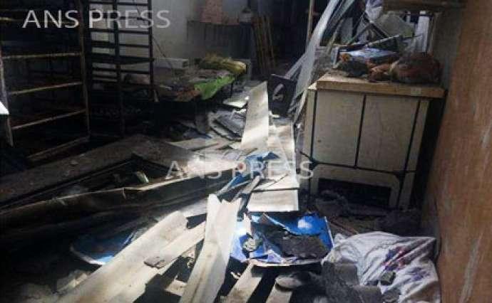 Gəncədə yaşayış binasında güclü partlayış oldu