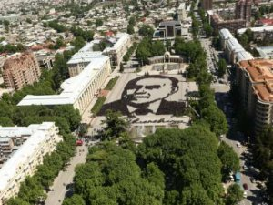"""Gəncəlilərin Heydər Əliyev portreti """"Ginnesin rekordları""""na düşə bilər"""