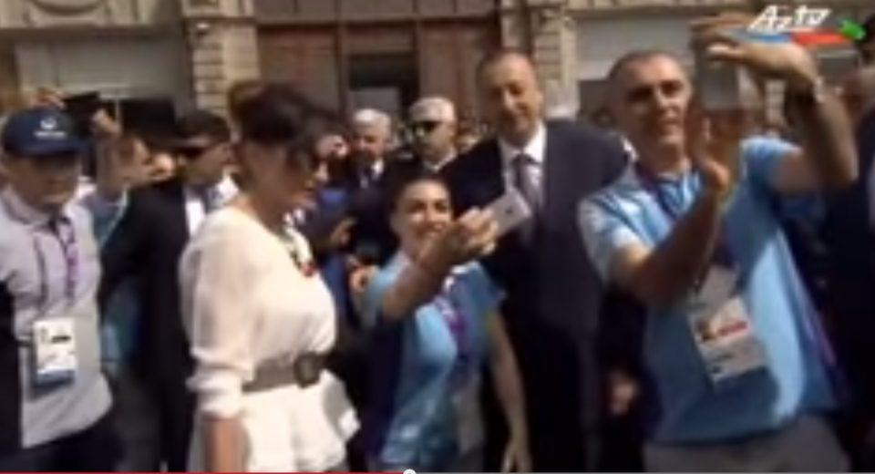 Prezident İlham Əliyevdən maraqlı anlar - FOTO, VİDEO