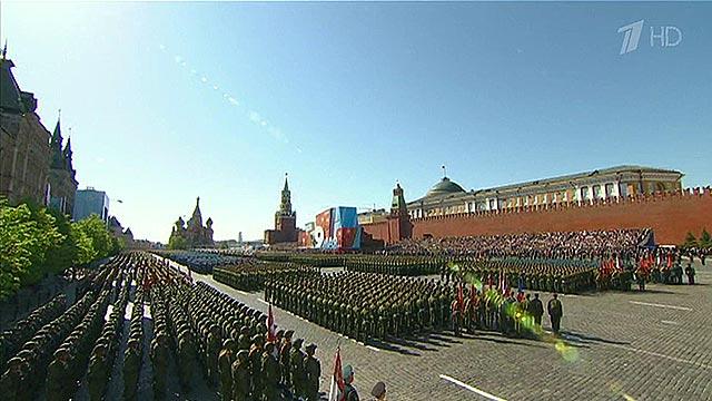 Rusiyada dünyanın ən möhtəşəm hərbi paradı keçirilir - VİDEO