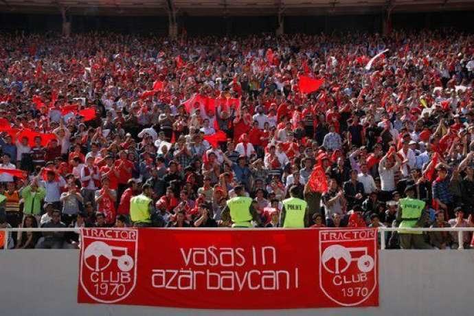 Tehran stadionunda çağırış: Azərbaycan var olsun! – VİDEO