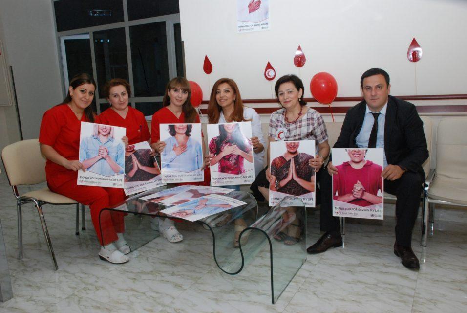ATU-nun Tədris Cərrahiyyə Klinikasında könüllü donorlar qan veriblər - FOTO