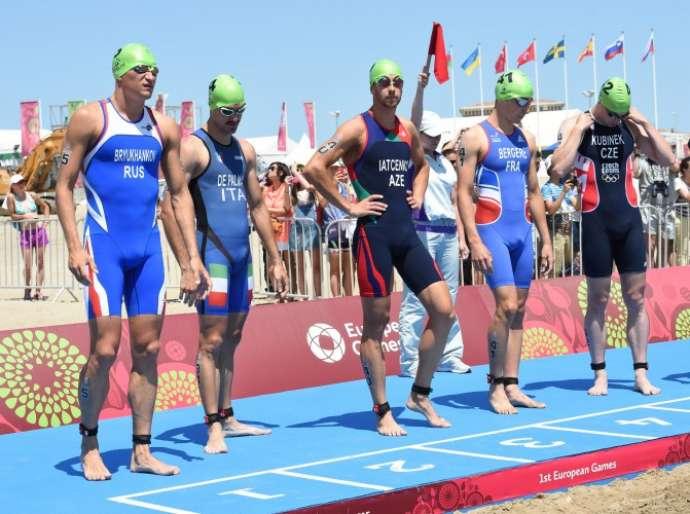 Azərbaycan günün ilk medalını qazandı