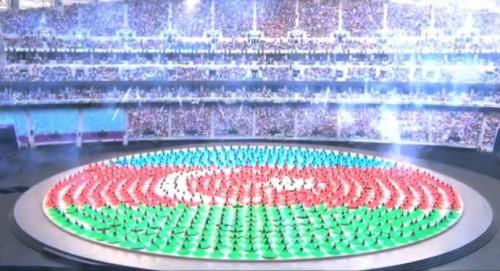 bayraq avropa oyunlarında