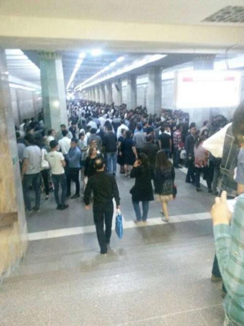 metroda ölüm