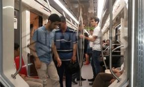 Yeni qatarlar xəttə buraxıldı - Foto