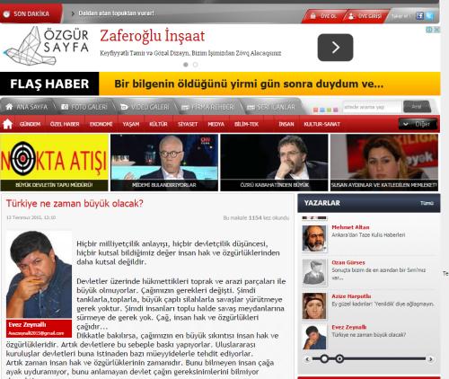 ozgur sayfa