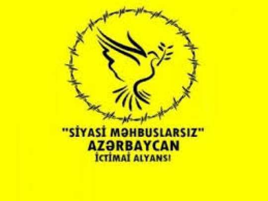 Siyasi Məhbuslarsız Azərbaycan bəyanat yaydı
