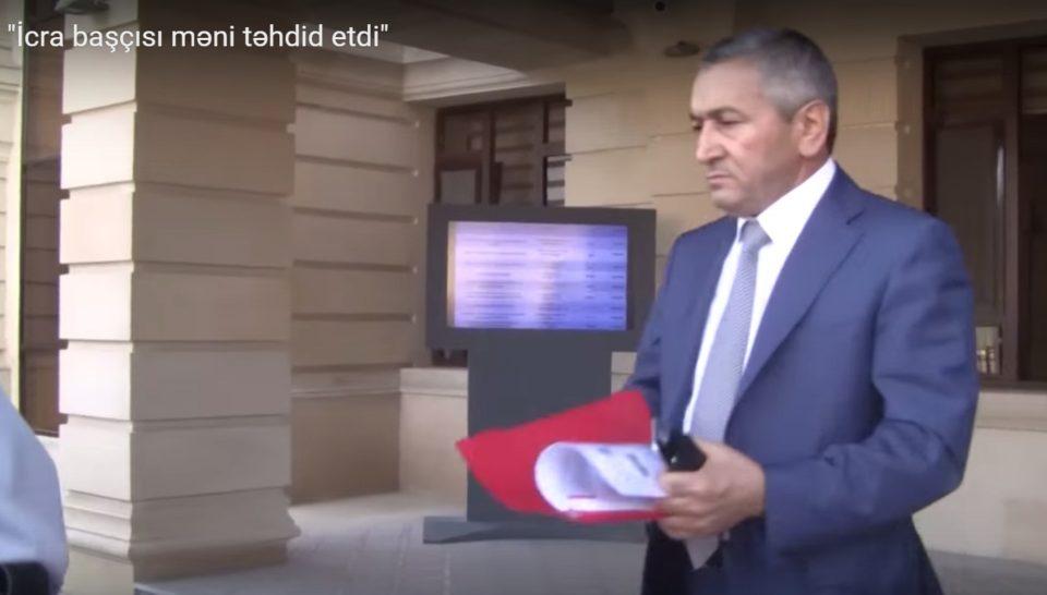 Adil Vəliyev yaşayış qəsəbəsində mərmər sexi tikdirir- Video