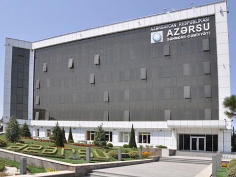 """""""Azərsu""""da dəyişiklik"""