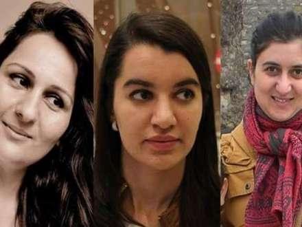 Meydan.tv-nin 3 xanım jurnalisti aeroportda saxlandı