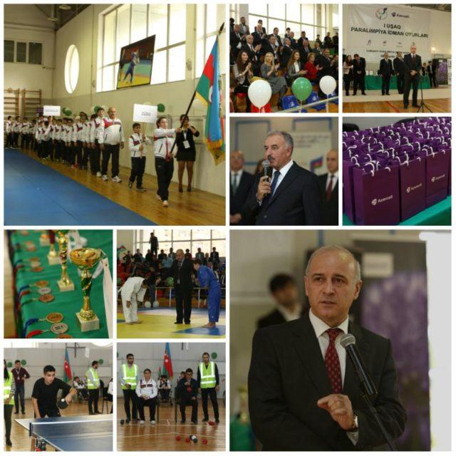 Azercell I Uşaq Paralimpiya Oyunlarını dəstəkləyir