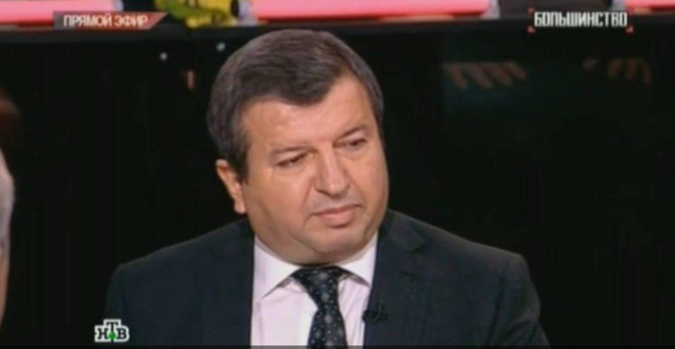 """Azərbaycanlı politoloq Rusiyanın """"NTV"""" kanalında generalı necə susdurdu?-VİDEO"""