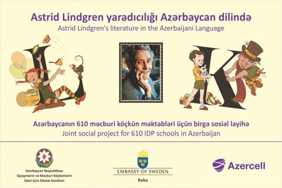 Məşhur uşaq yazarının 9 kitabı Azərbaycan dilinə tərcümə edildi