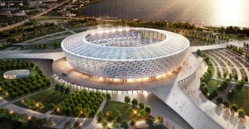 Bakı Olimpiya Stadionunda toy