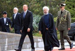Prezident Həsən Ruhani ilə görüşdü