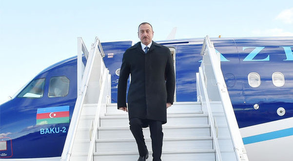 Fevralın 23-də prezident İrana uçur