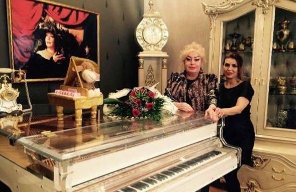 İlhamə Quliyevanın dünən çəkilən son Foto və Videosu