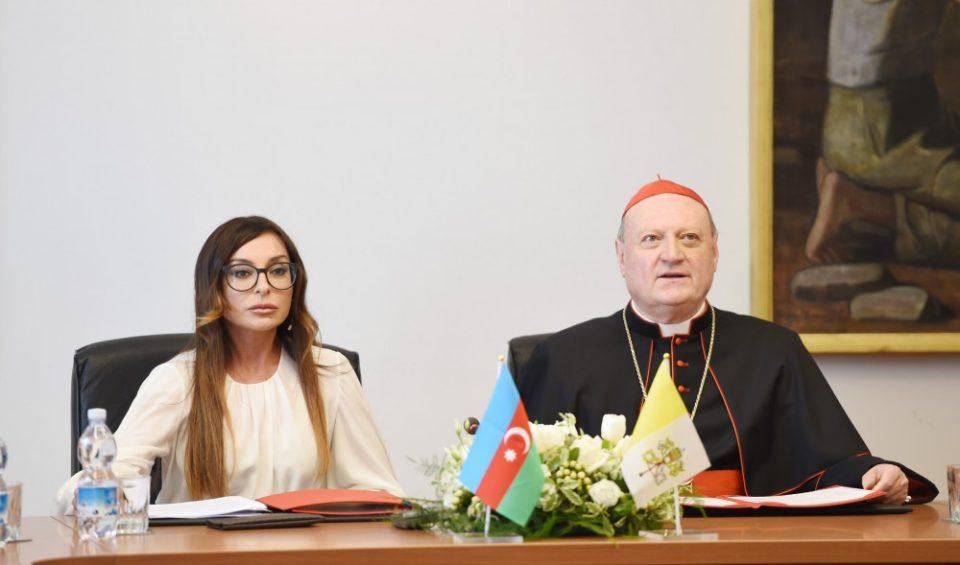 Mehriban Əliyeva Pio-Klementino muzeyində olub  - FOTOLAR