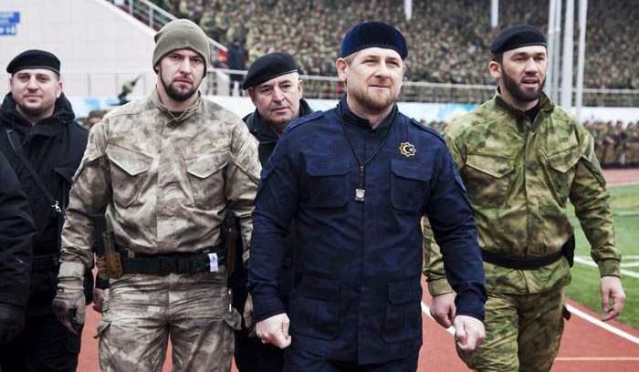 """Qanlı ordu """"KRA"""" – """"Kadırov Ramzan Axmatoviç"""""""
