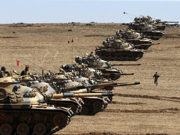 Azərbaycan ordusu tankların yarışını keçirdi - FOTO/VİDEO