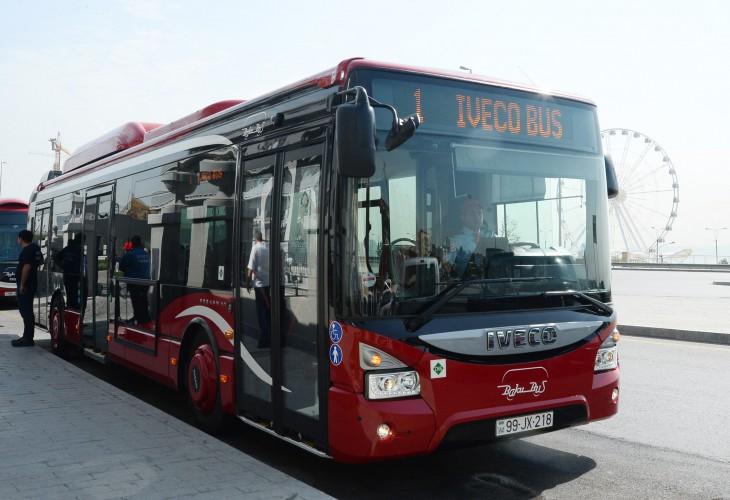 Bakıya yeni avtobuslar gətirilir