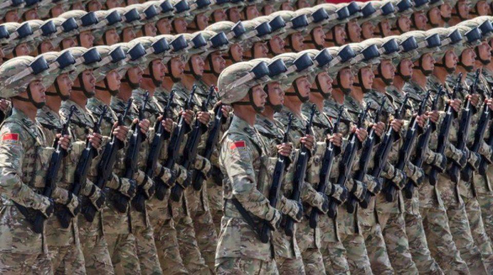Çin müdafiə xərclərini 7,6 faiz artırır