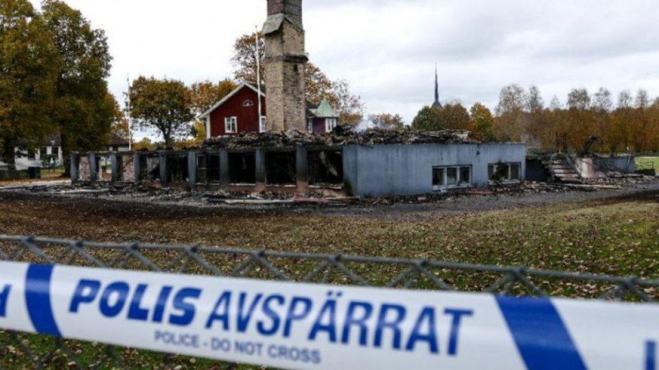 İsveçdə qaçqınların sığınacağınaod vurdular