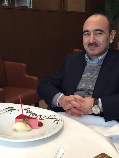 Prezidentin köməkçisi doğum gününü belə qeyd etdi - Foto