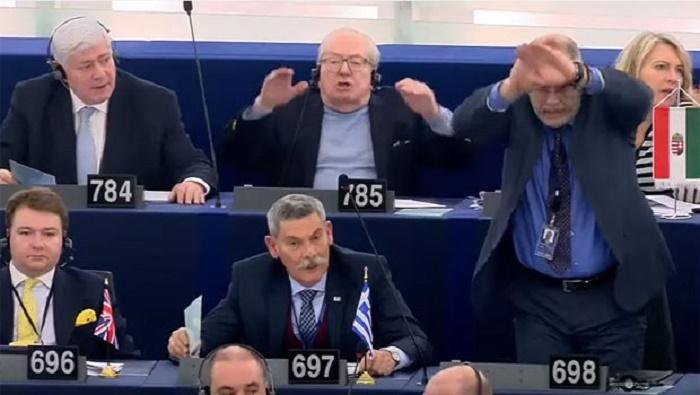 Avropa Parlamentində qalmaqal - Türkiyə təhqir edildi - VİDEO