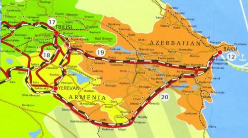 Bakı-Tibilisi-Qars