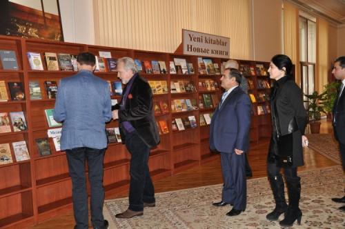 Milli Kitabxananın direktoru Kərim Tahirli