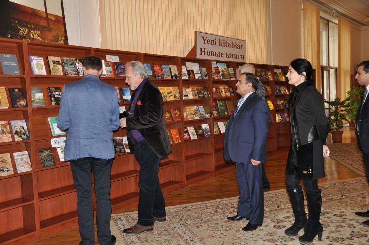 Milli Kitabxananın saytında musiqi kitabxanası yaradılıb